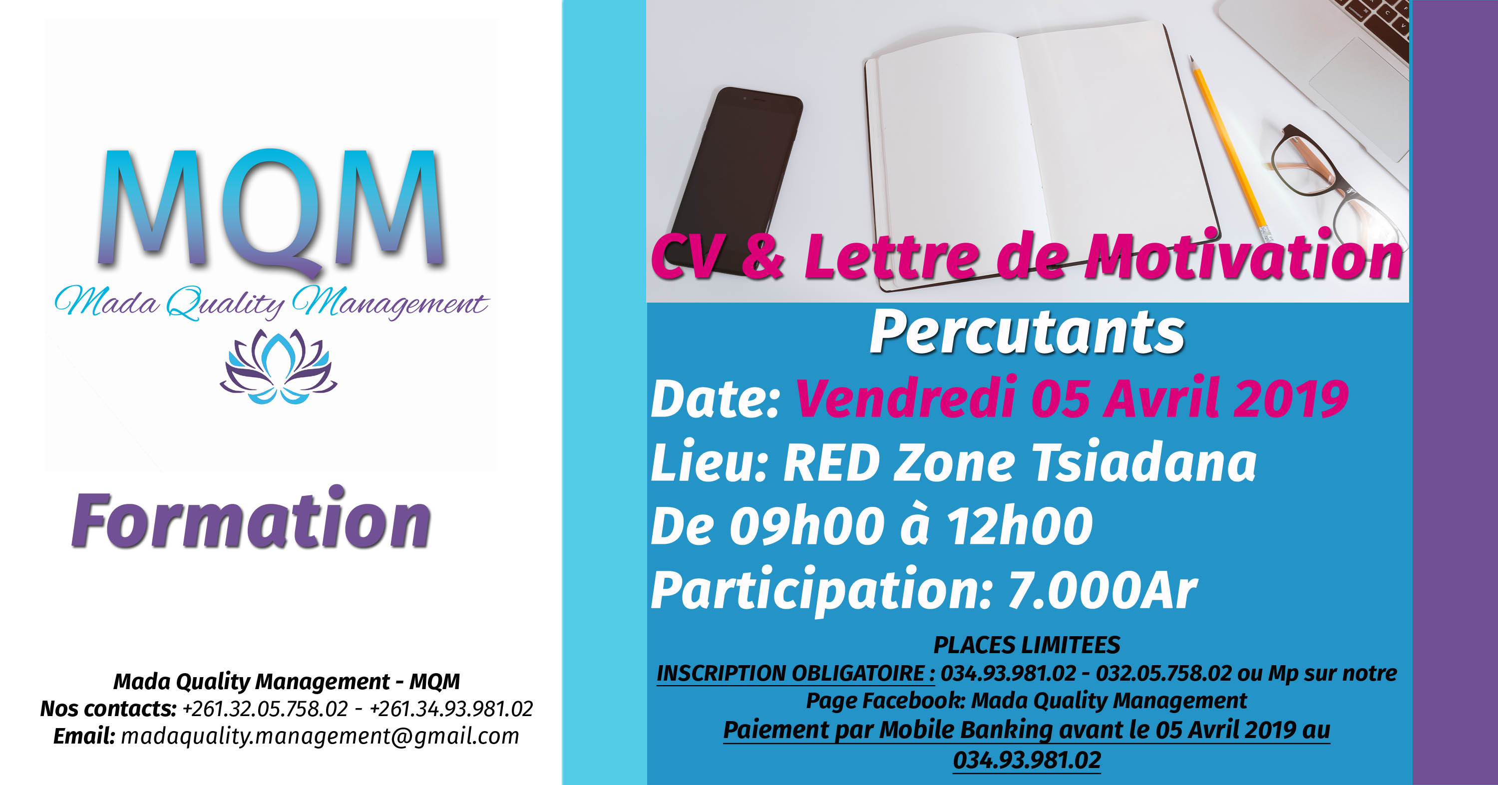 cv et lettre de motivation percutants